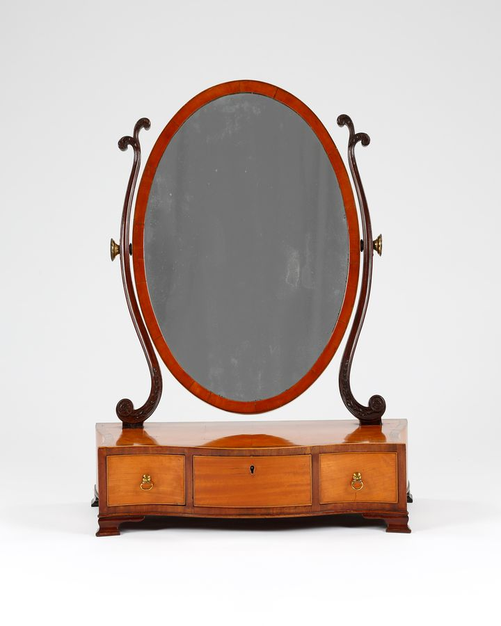 18th Century Toilet Mirror