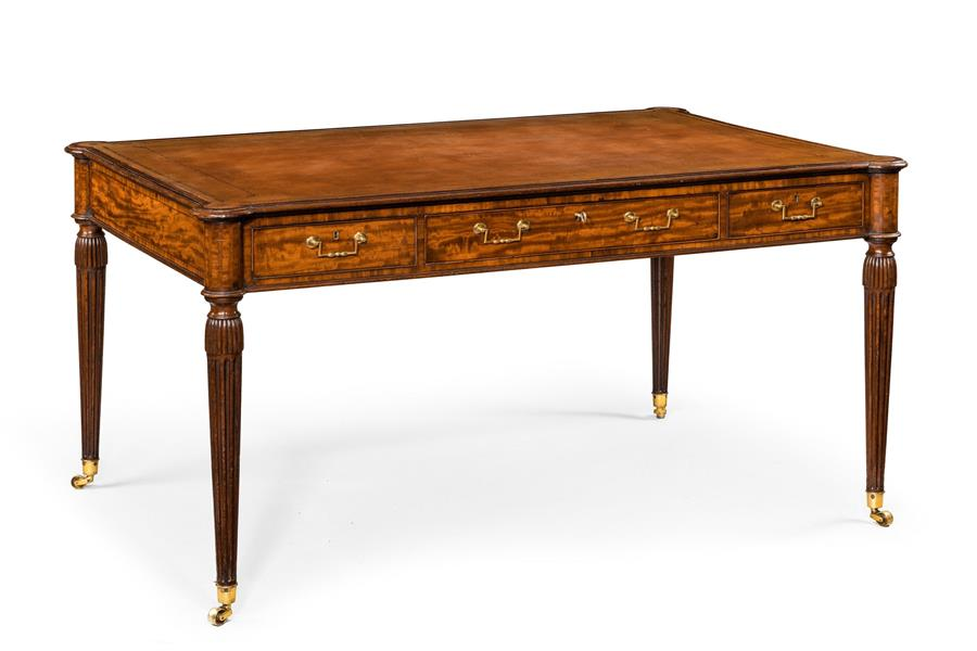 18th century mahogany writing desk