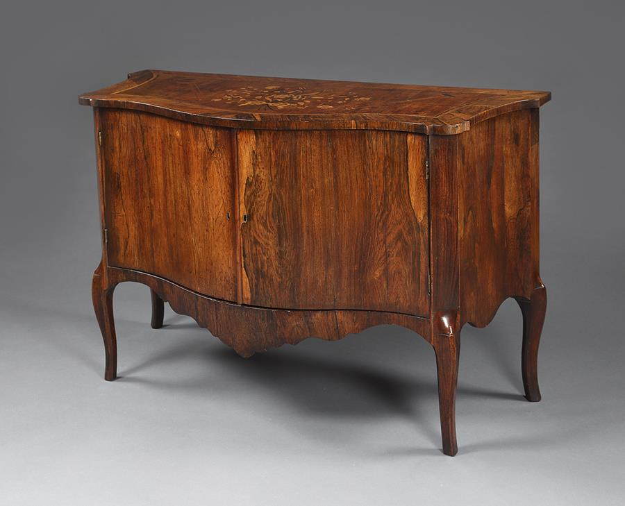 Georgian Rosewood Commode