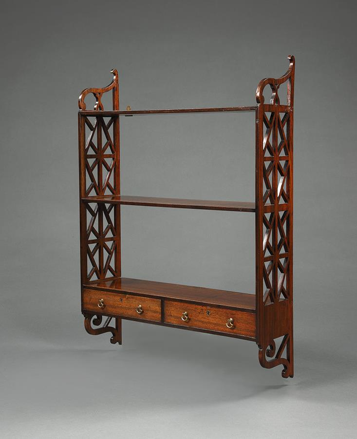 18th Century Hanging Wall Shelves