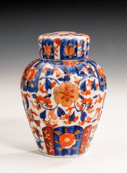 Early 20th Century Japanese Imari Jar