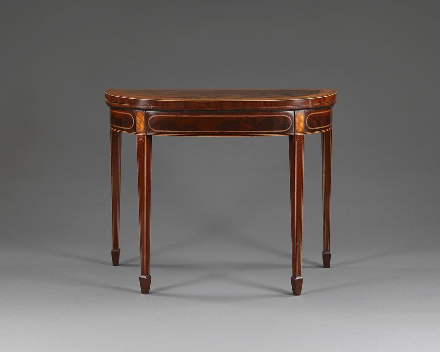 George III Card Table