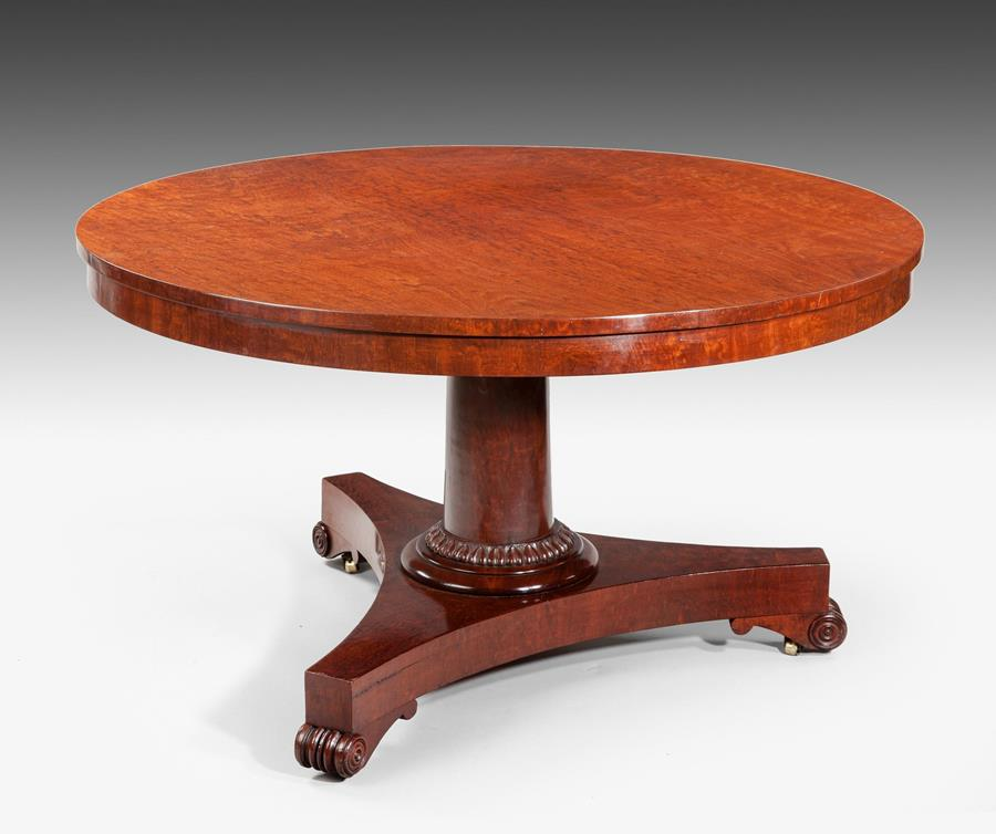 19th Century Circular Breakfast or Centre Table