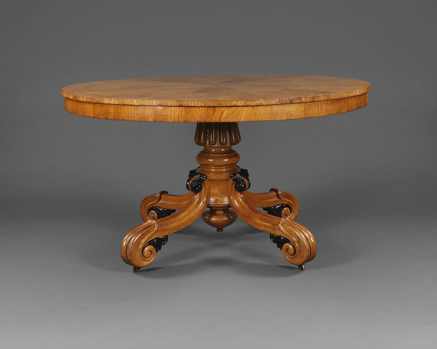 19th Century Breakfast Table