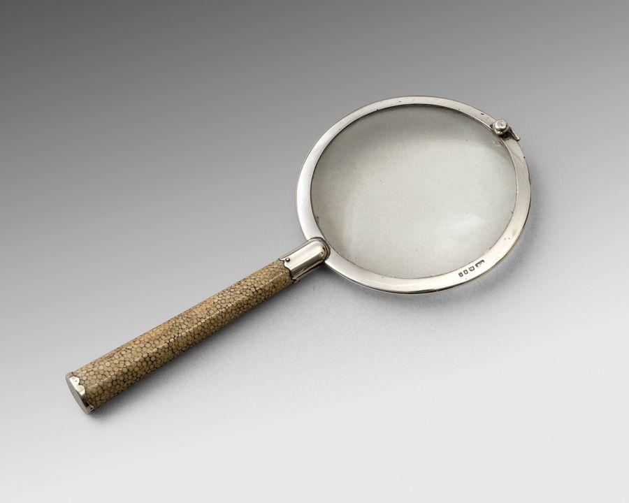 William Martin silver eye glass