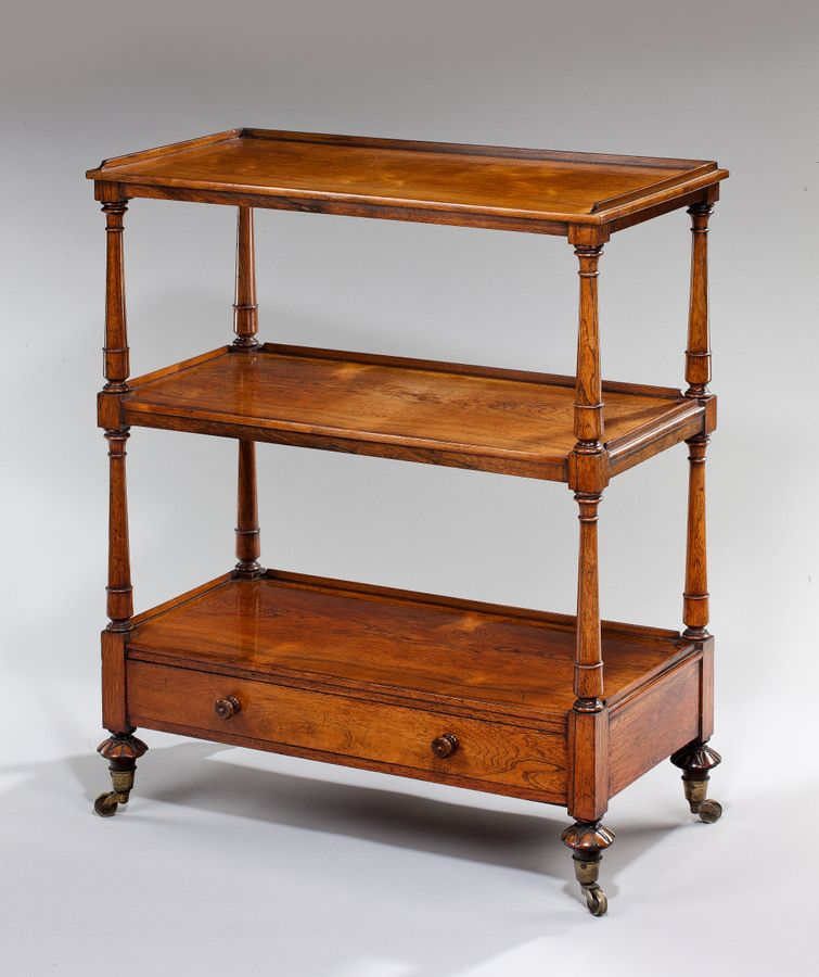 19th century rosewood what-not