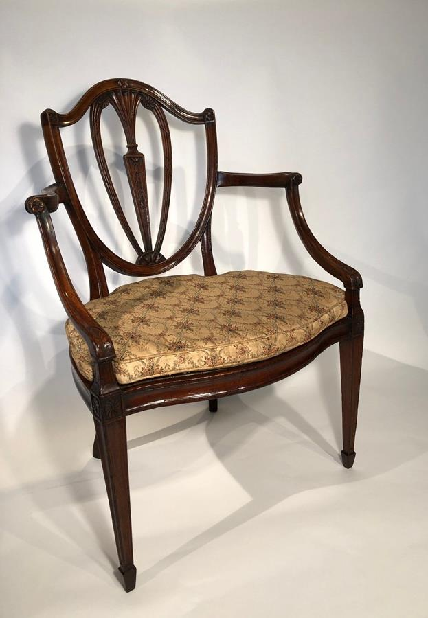 19th Century Elbow Armchair