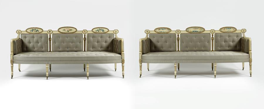 George III Neo-Classical Settees