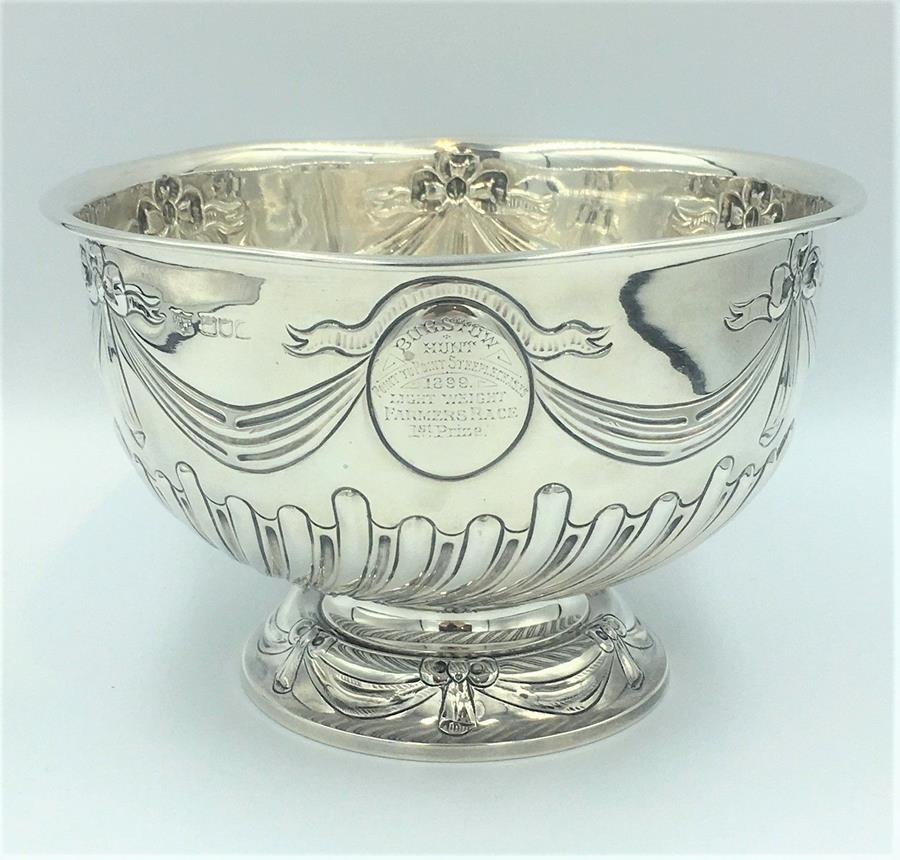 Mappin & Webb Silver Rose Bowl