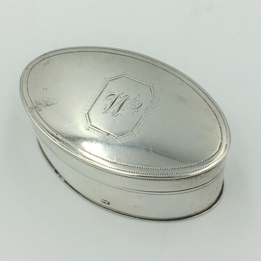 Georgian Oval Nutmeg Holder