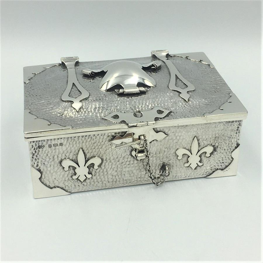 Arts & Crafts Silver Box
