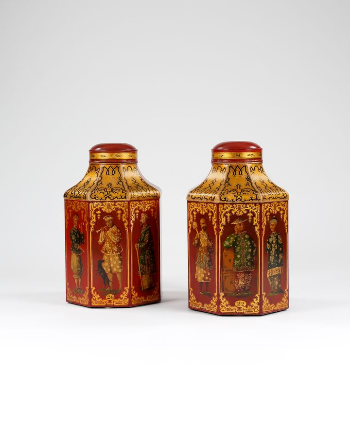19th century Tea Tins