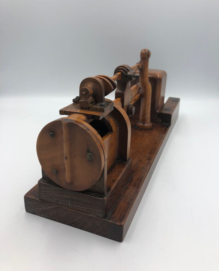 Wooden  Model of a Steam Pump