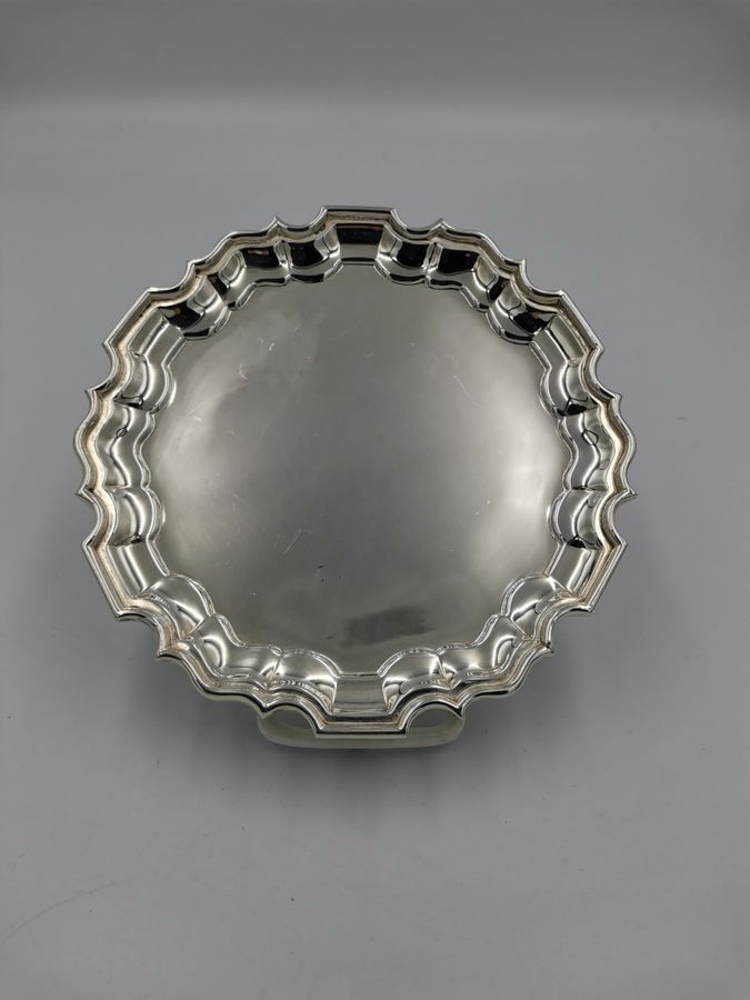 20th Century Small Silver Salver by Pairpoint Brothers.