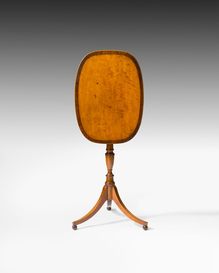 18th century satinwood occasional table
