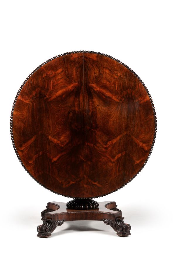 19th century Regency rosewood centre table