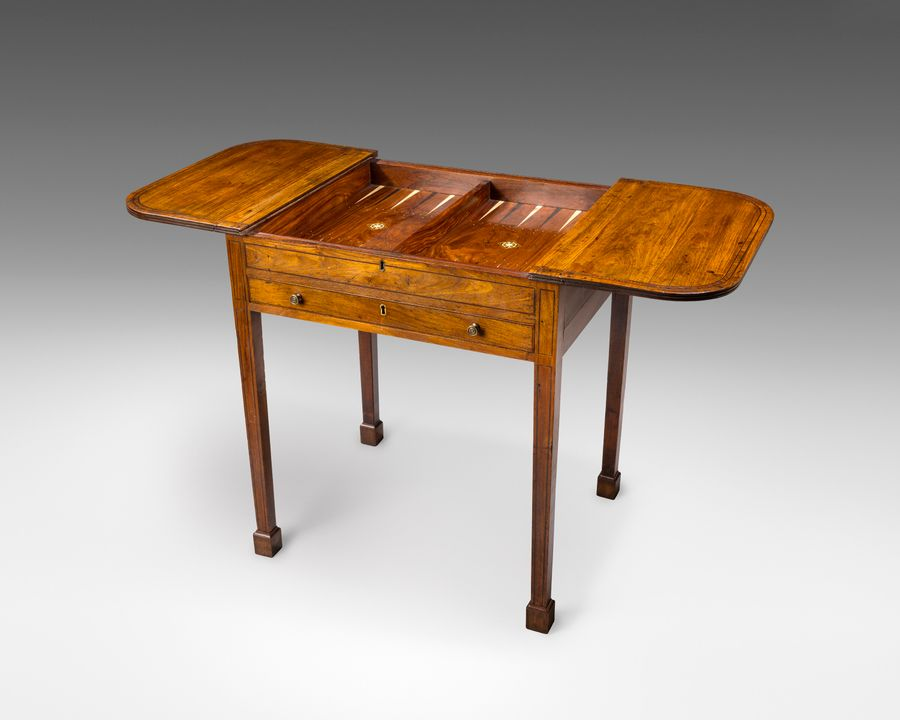 18th century Chinese games table