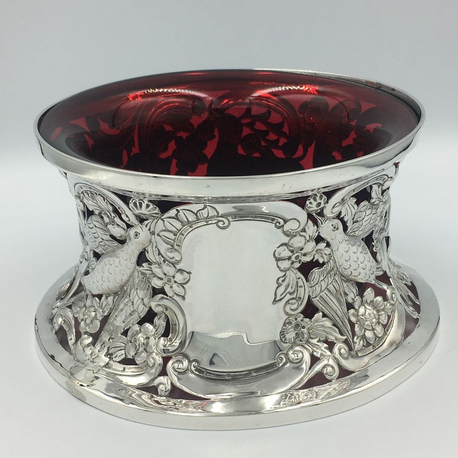 Irish silver dish ring