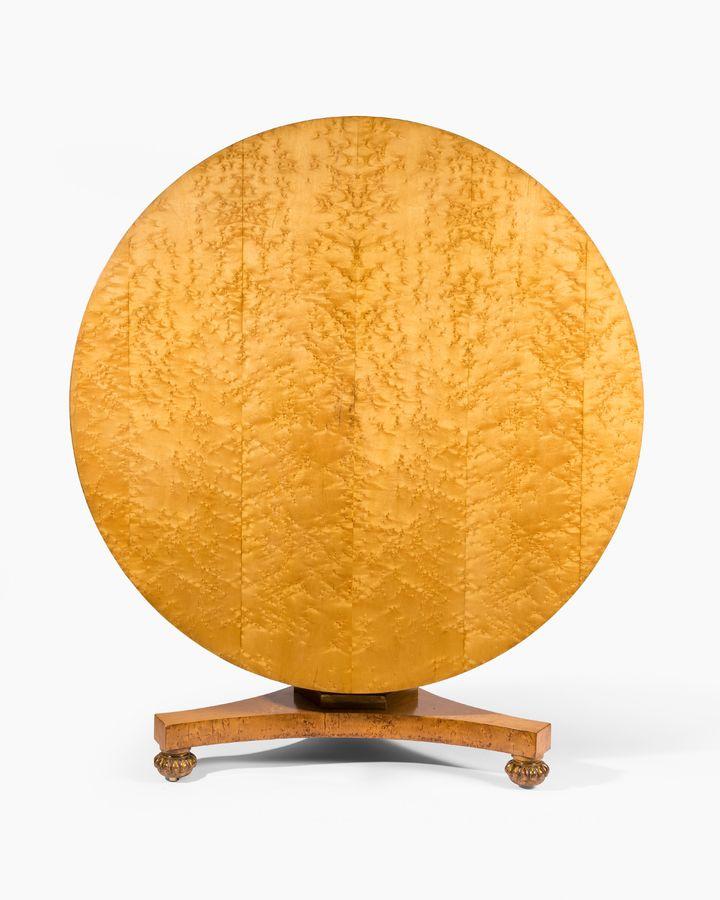 19th Century Circular Gillows Table