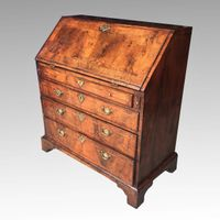 3ft Mid 18th century walnut bureau