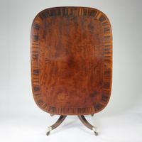 Fine quality shaped rectangular/oval Breakfast Table