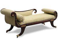 Regency Chaise Longue