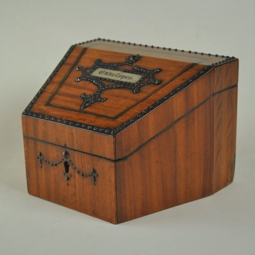 Satinwood Stationery Box