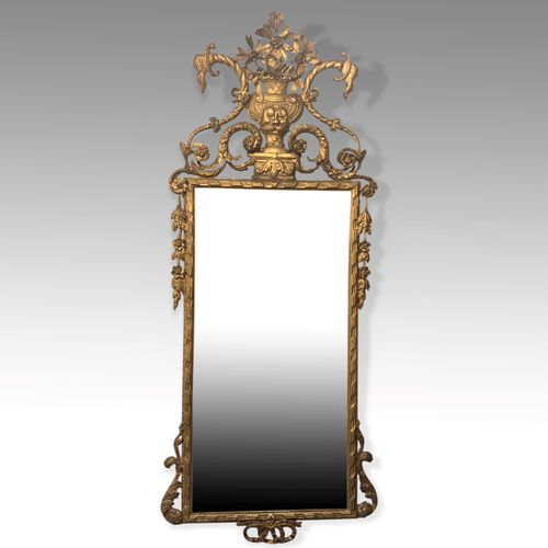 Tall 6ft 6in gilt Mirror
