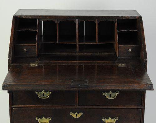 Small oak bureau