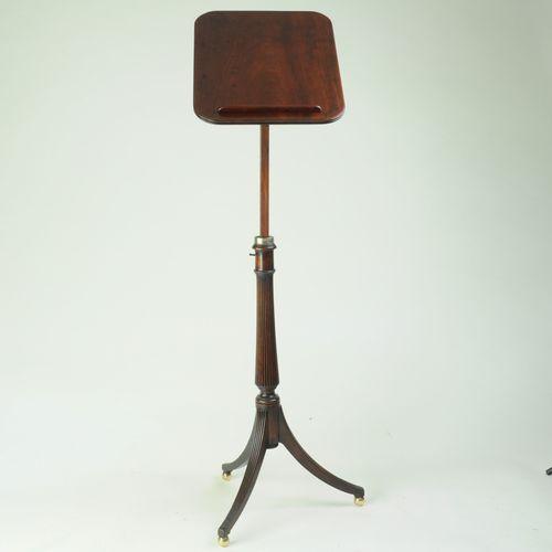 Fine Regency period mahogany Lectern Table