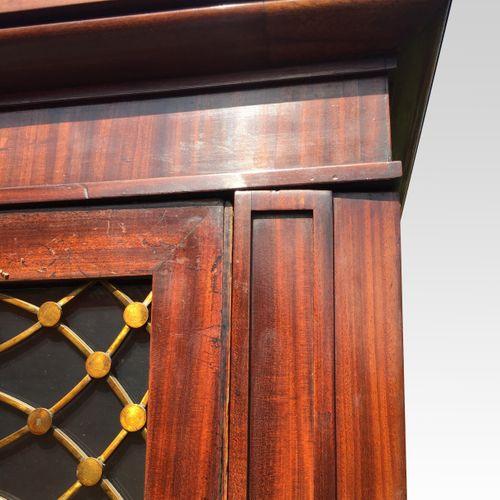 Pair of early 19th century mahogany bookcases