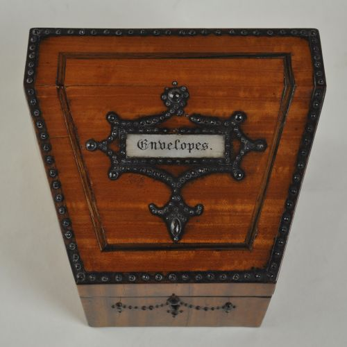 Satinwood Stationery Box