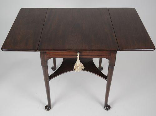 Rare George I mahogany Supper/Breakfast Table