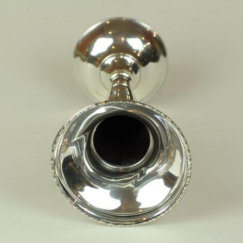 Tall silver Posy Vase