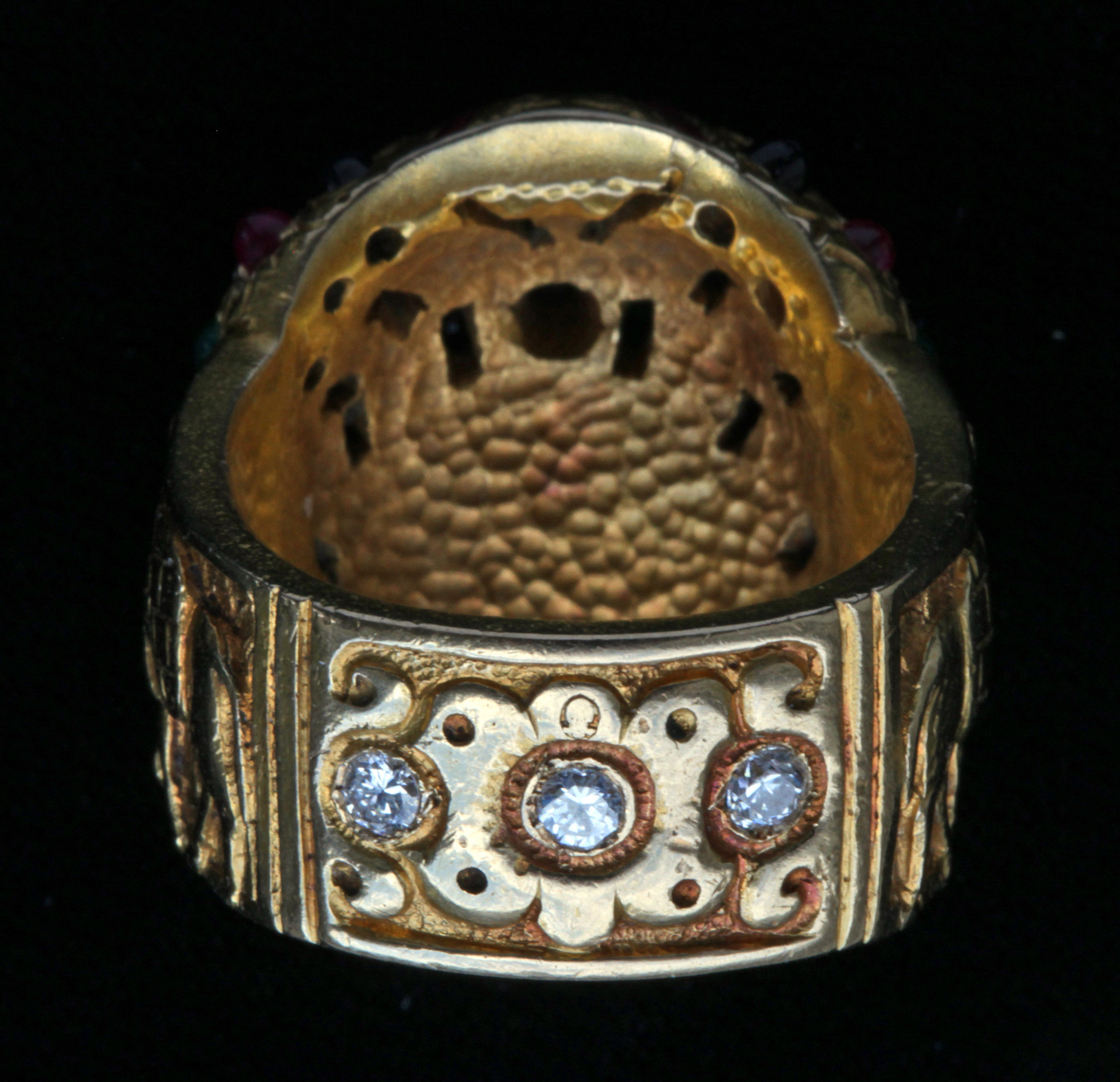 Fabulous Portrait Ring By French Moroccan Tadema Gallery