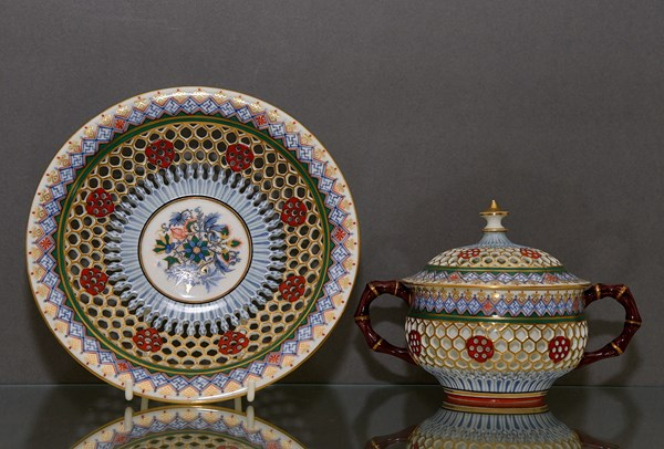 Chamberlain's Worcester Reticulated Ware