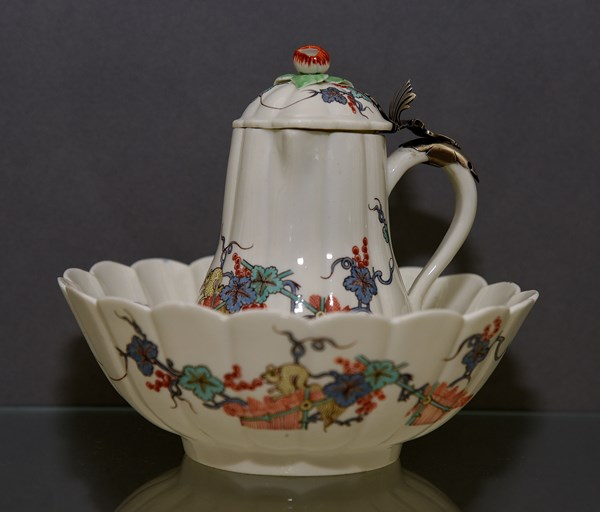 Chantilly Ewer and Basin