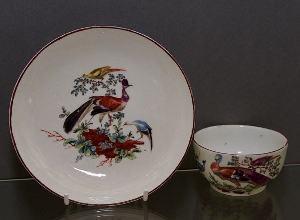 Tournai Tea Bowl and Saucer