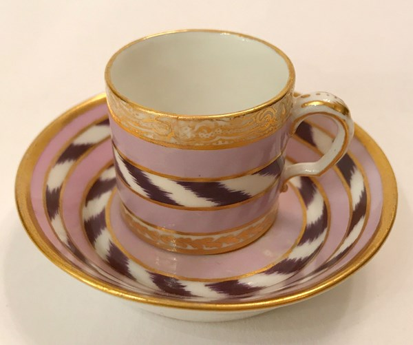Sèvres Miniature Cup and Saucer