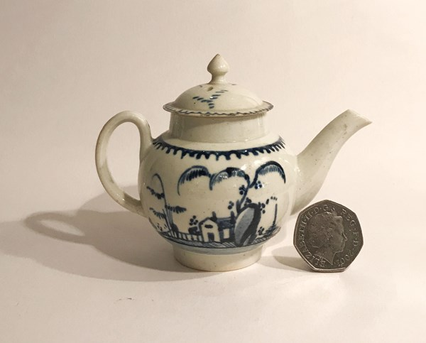 Toy Teapot and Cover