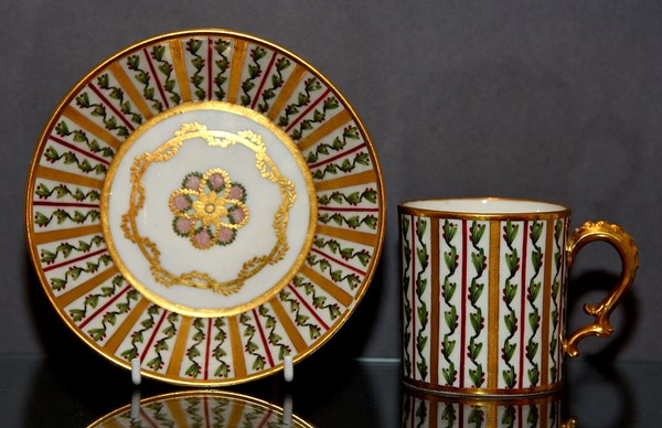 Sèvres Cup and Saucer