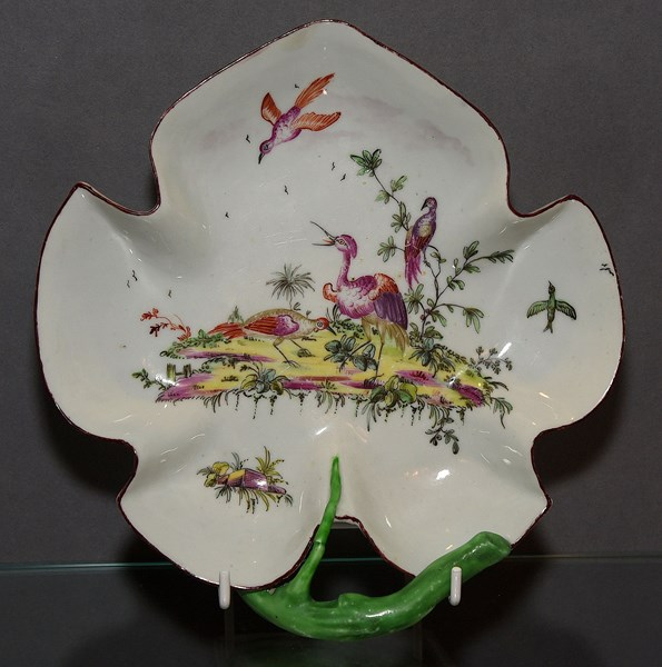 Longton Hall Leaf Dish