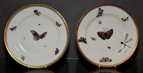 Pair of Paris Dessert Plates
