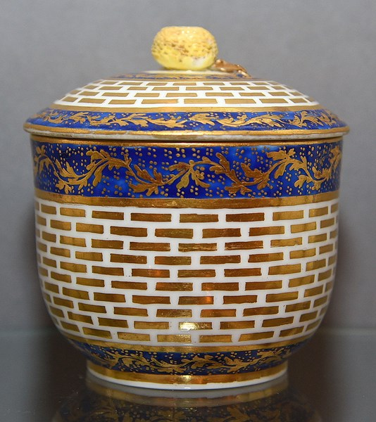 Sèvres Sugar Bowl and Cover