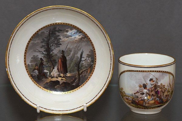 Meissen Cup and Saucer