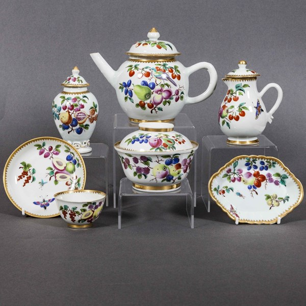 Chinese Part Tea Service