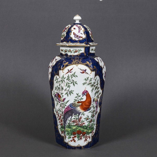 Worcester Vase and Cover