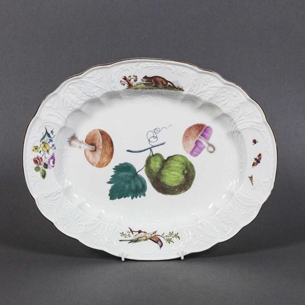Meissen Oval Dish
