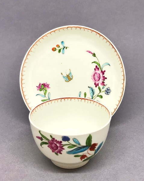 Worcester Tea Bowl and Saucer