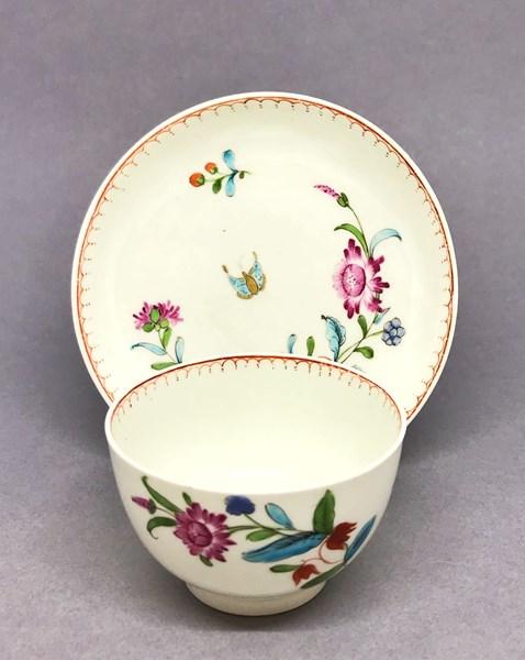Worcester Tea Bowl and Saucer